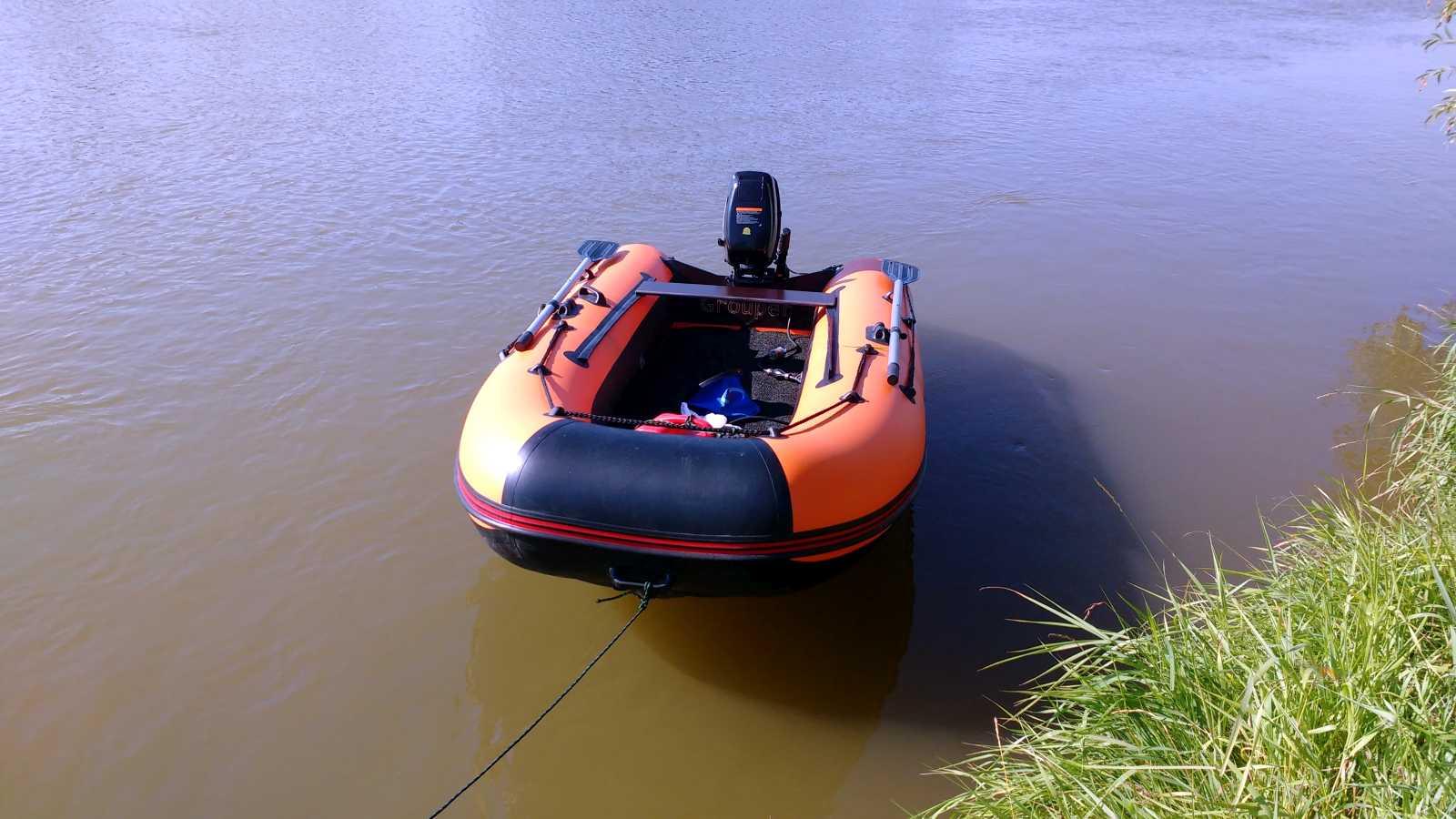 лодка групер 300 нднд видео