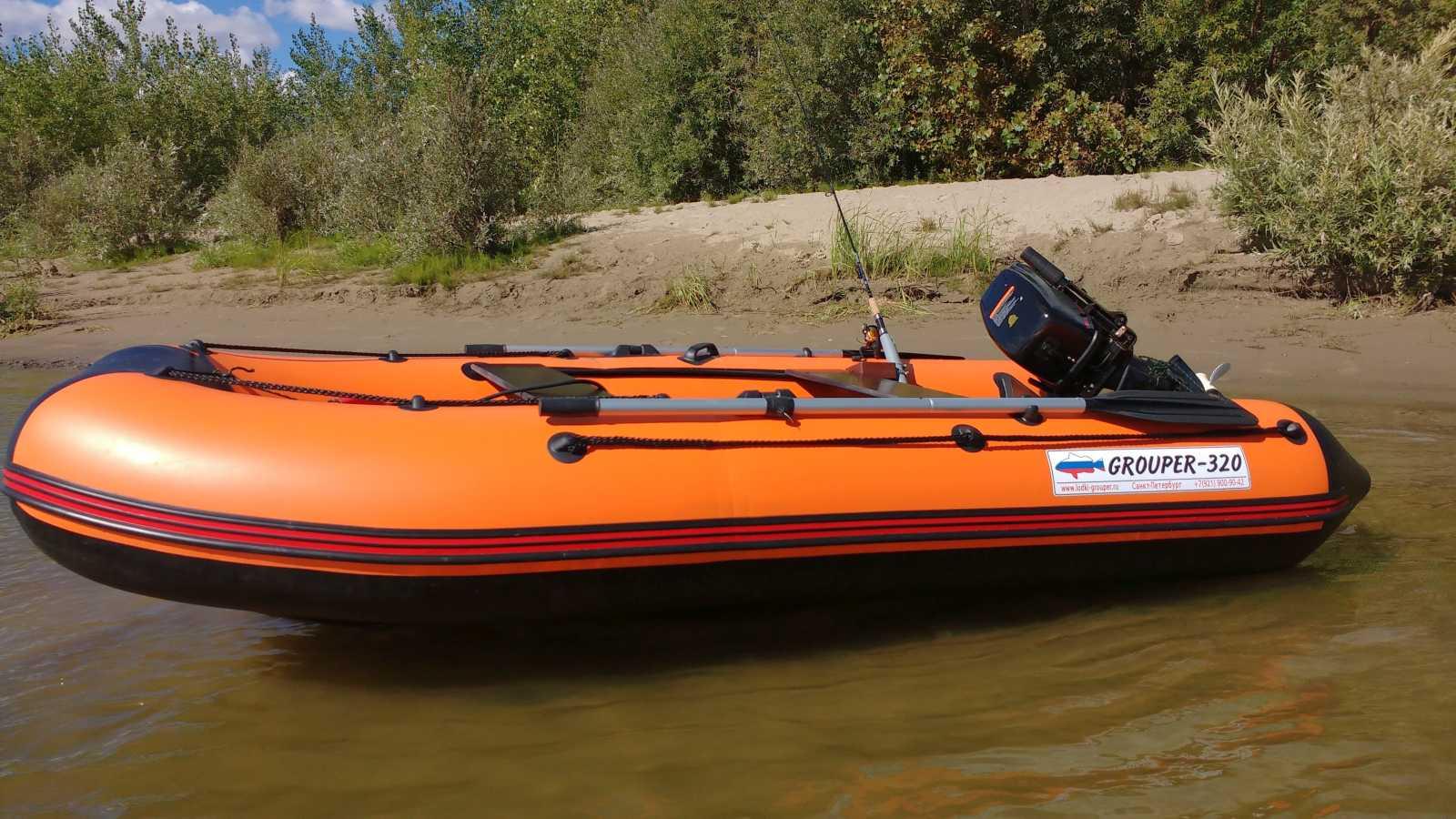 лодка групер характеристики