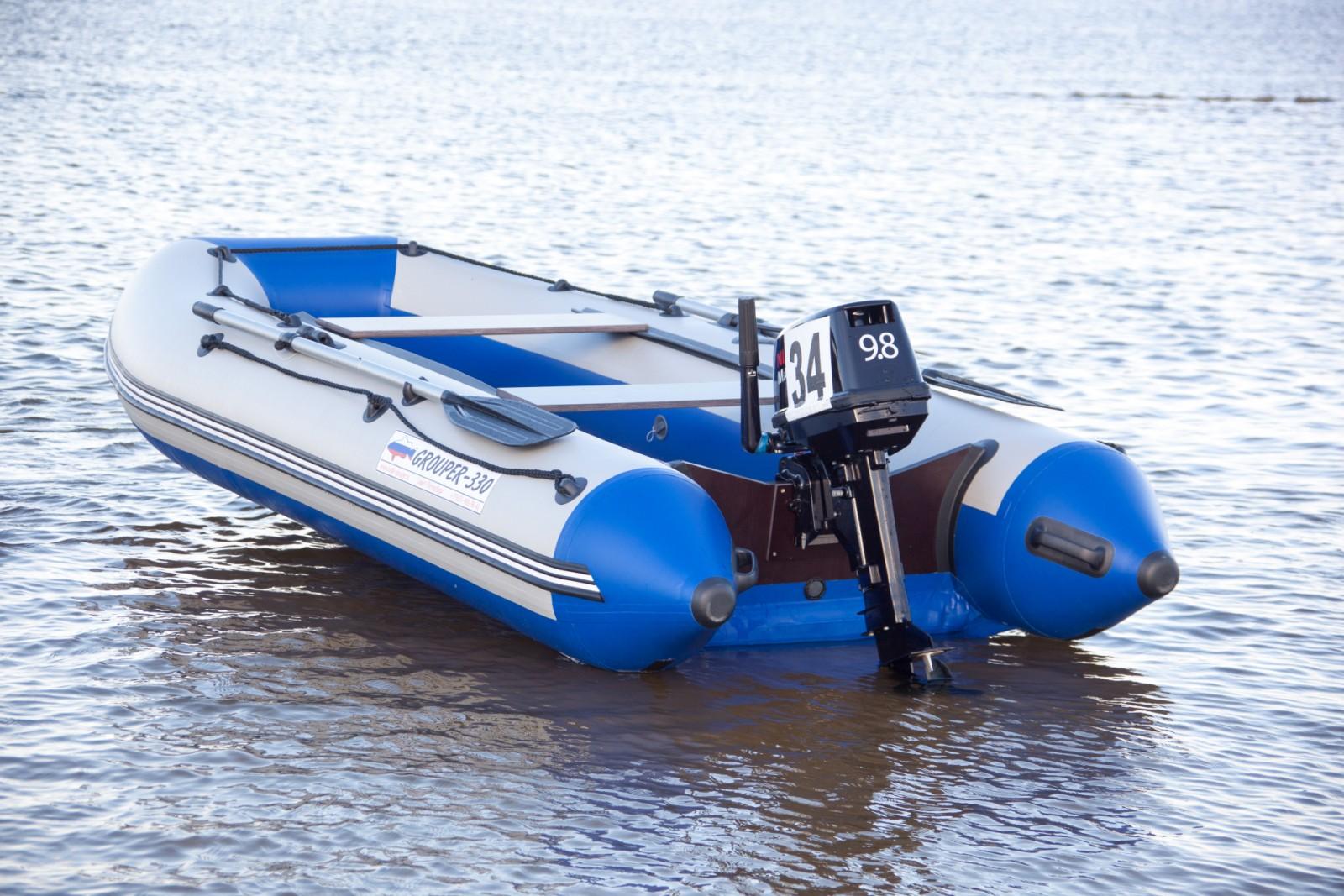 пвх лодки групер 330 характеристики