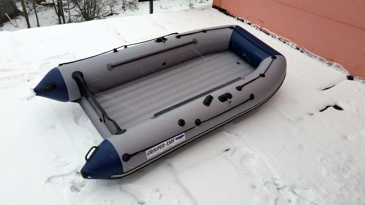 купить лодку групер 330 в спб