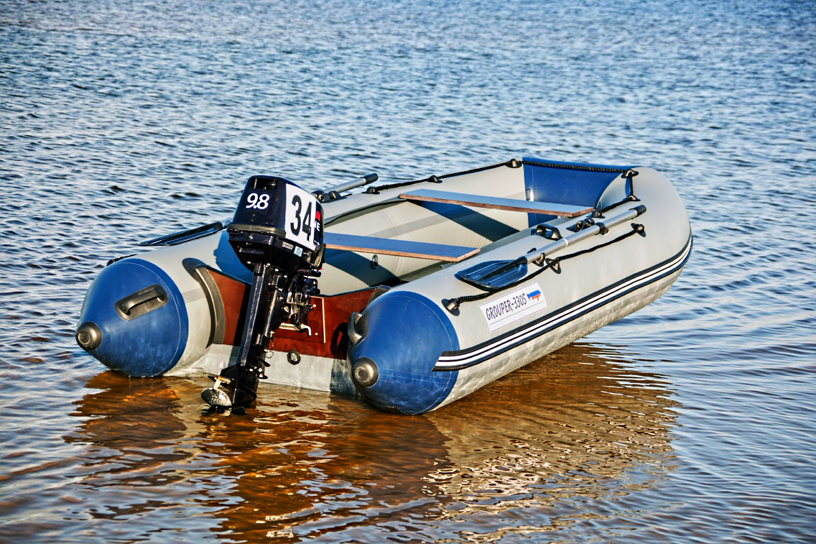 надувная лодка grouper